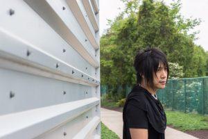 Jian outside of Wintergreen