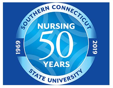 Nursing 50 Years logo